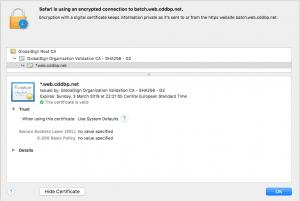 Zertifikat batch.web.cddbp.net